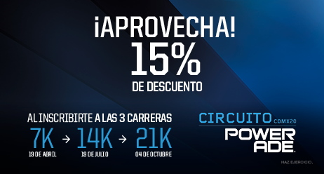 Circuito Powerade 2020